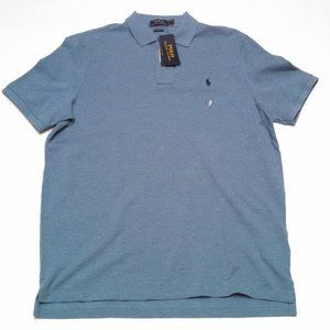 Ralph Lauren Polo Classic Fit Collared Shirt Blue